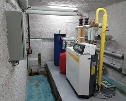 chaufferie gaz à condensation